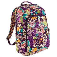 Vera Bradley Laptop Backpack #VonMaur #VeraBradley #Backpack