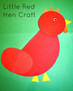 Little Red Hen Craft (from Fantastic Fun & Learning)