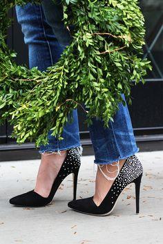 diy crystal shoes
