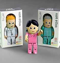 USB Drives for nurses! These make great gifts for new #NursingStudents.