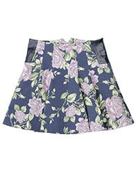 kate skirt in navy floral