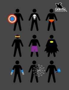 super heroes!