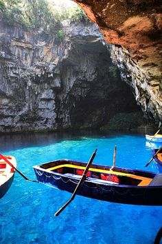 Melissani Cave, Kefalonia Island - Greece