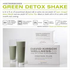 Green Detox Shake #getkirsched