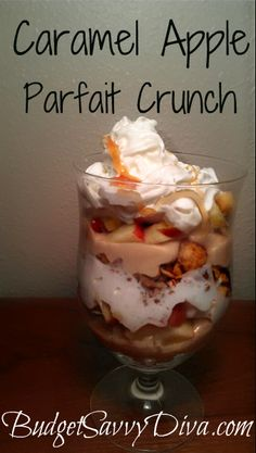 Caramel Apple Parfait Crunch