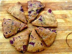 Raspberry scones #glutenfree #grainfree #paleo