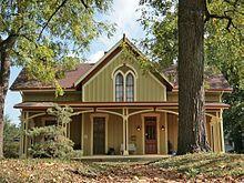 Carpenter Gothic - Langdon House, Cincinnati, Ohio