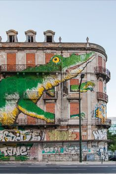 Urban art is scattered all over Lisbon, covering anything from recycling bins to parking lots and whole buildings. Click to explore the city's art, food and music, all from the comfort of your living room.  #culturetrip #forcurioustravellers #staycurious #stayhome #stayathome #traveltomorrow #portugal #lisbon #streetart #pastéisdenata #portugesefood #exploreportugal #explorelisbon #armchairtraveller