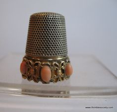 Antique thimbles, Antique hat pins, Antique boxes, Antique card cases, Antique needle-work pictures, antique needlework tools, small collectables & objects d'art from The Thimble Society