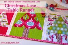 Christmas Table Runner Tutorial