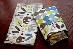 Diaper Pouch and Changing Pad | AllFreeSewing.com