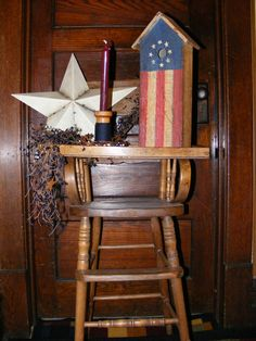 Free Primitive, Country and Rustic Craft Projects, Instructions