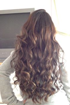 Long Curly Hair Tumblr