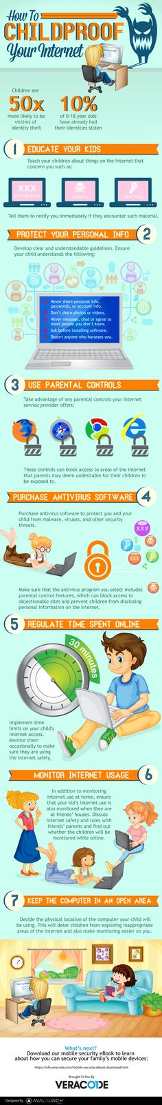 Childproofing Your Internet #Infographic