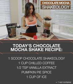 Autumn's 21-Day Fixed Approved shakes. Get your Shakeology: http://www.shakeology.com/where-to-buy?TRACKING=SOCIAL_SHK_PI