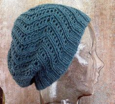 Perfect slouchy knit hat.