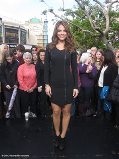 maria menounos' Extra look of the day: dress @blackhalostyle, jewelry katherine jetter