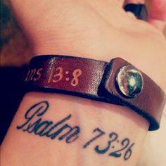 Psalm 73:26 tattoo