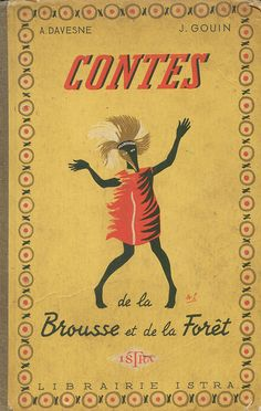 vintage French book cover
