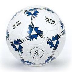 Amnesty International Fair - Trade Logo Soccer Ball  Price : $20.00 http://shop.amnestyusa.org/Amnesty-International-Fair-Trade-Soccer/dp/B002ED9JM6