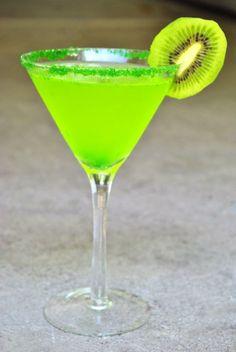 Elphaba's Wicked Elixer (Midori & Pineapple Rum)