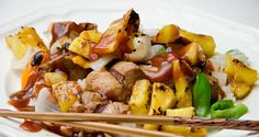 fruit sweet sour chinese dishes grill sweet sour porkful grills grill ...