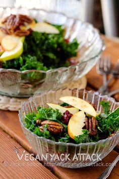 Autumn Salad with Citrus Vinaigrette (P)