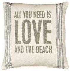 Definitely the beach!