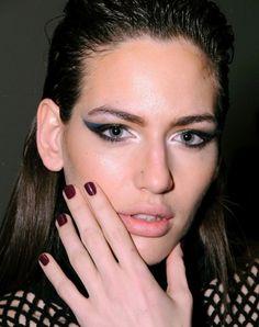 Beauty inspiration from Catherine Malandrino's Fall 2012 show.
