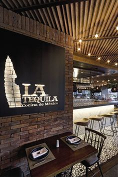 La Tequila South Restaurant #modern #luxury #restaurant #design