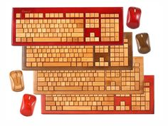 Bamboo Wireless Keyboard & Mouse Set