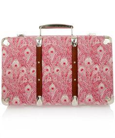 Hera Liberty print suitcase