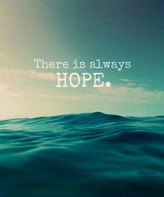 Hope quote via Living Life at www.Facebook.com/KimmberlyFox.39
