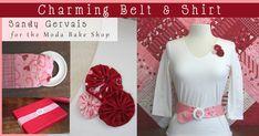 Charming Belt & Shirt « Moda Bake Shop