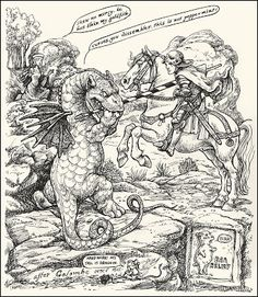 The Pictorial Arts: Tripping with St. George