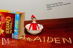 More Elf on A Shelf ideas