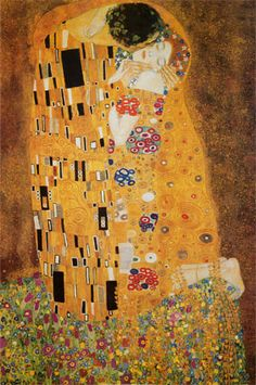 the kiss- gustav klimt  one of my favorite paintings