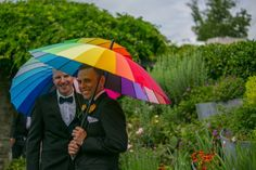 #WorldPride Wedding at Toronto Botanical Garden #Toronto #Gay #Garden #Wedding