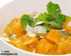 Receta de Curry de calabaza