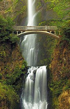 Multnomah falls, Portland. Oregon