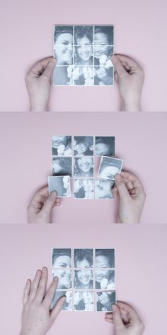 turn Instagram photos into magnets...make a jigsaw puzzle for kids to play with on your fridge