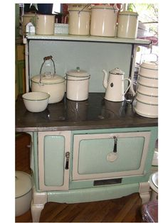 stove and enamelware