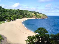 Blackpool Sands, South Devon (my parents live in the village above this beach).