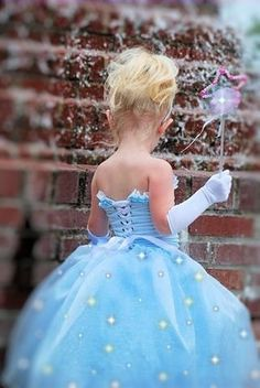 Beautiful little girl costume