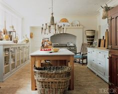 rustic country decor | rustic-country-kitchens-07