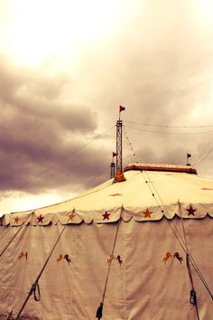 Circus tent, Hartbeespoort Dam, North West Province, SA. Photo by Robin Brown