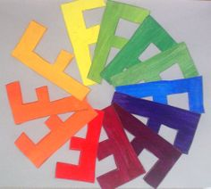 Creative Color Wheels: 7th Grade | Lessons from the K-12 Art Room