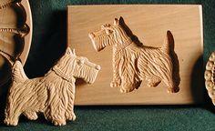 Scottish Terrier Shortbread Mold