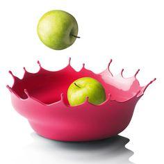 MenuDropp by Niels Romer...splash of paint frozen in time...fun bowl!