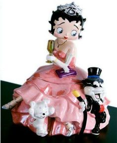 Betty Boop 75th Anniversary Cookie Jar - would LOVE THIS!!!!!!!!!